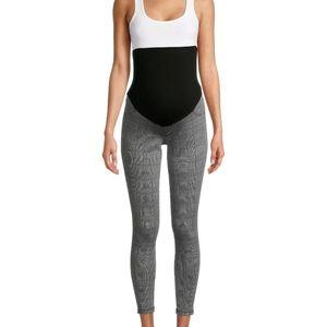 Time and tru maternity full panel legging pants